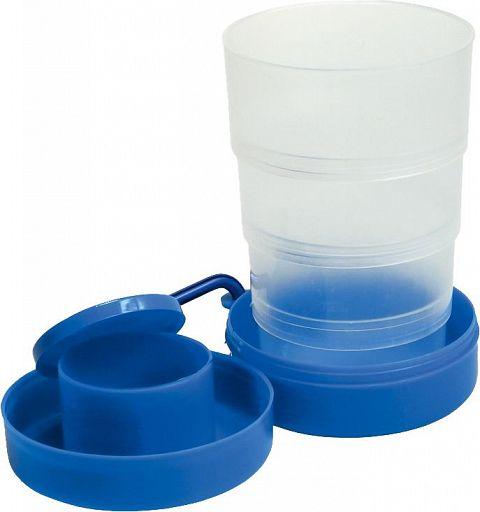Trinkbecher für unterwegs, Reisebecher blau
