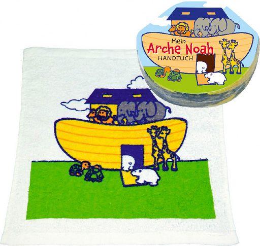 Baumwoll-Handtuch Arche Noah - rund