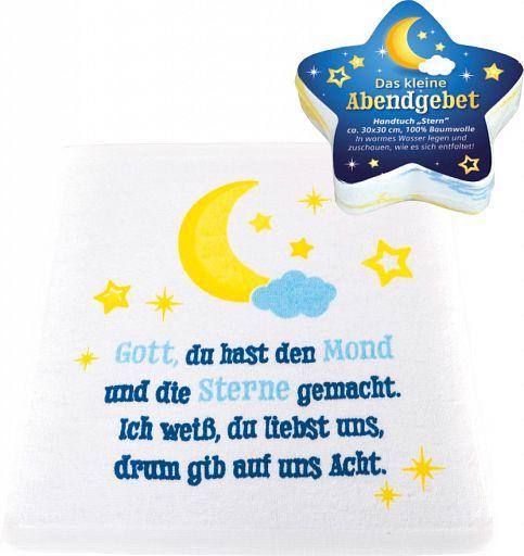 Baumwoll-Handtuch Stern