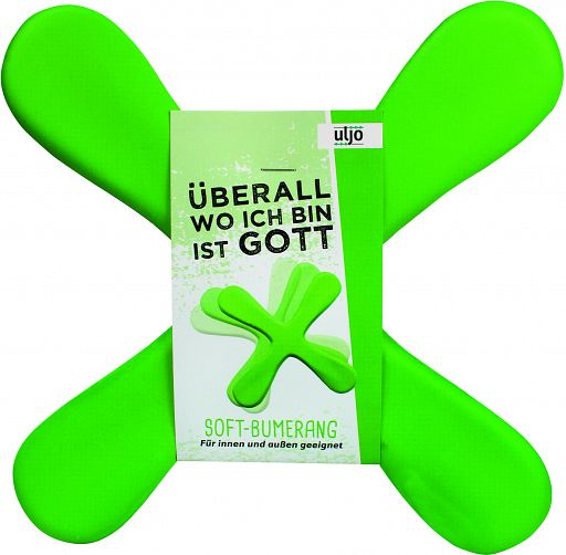 Soft-Bumerang, grün