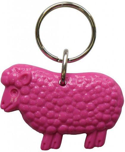 Schlüsselanhänger Schaf, pink