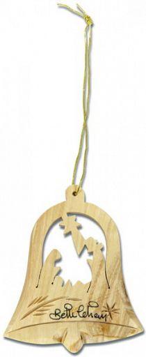 Weihnachts-Baumschmuck Glocke/Krippe