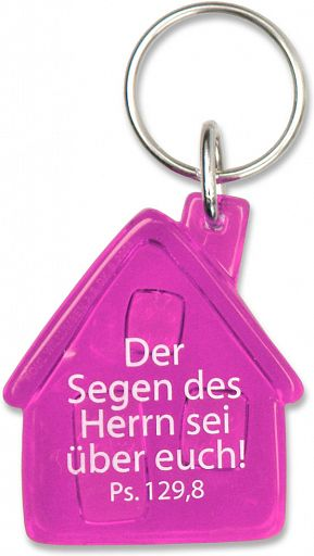 Schlüsselanhänger Haussegen