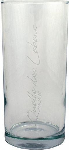 Trinkglas Quelle des Lebens