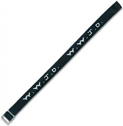 Armband gewebt WWJD, Stoffarmband
