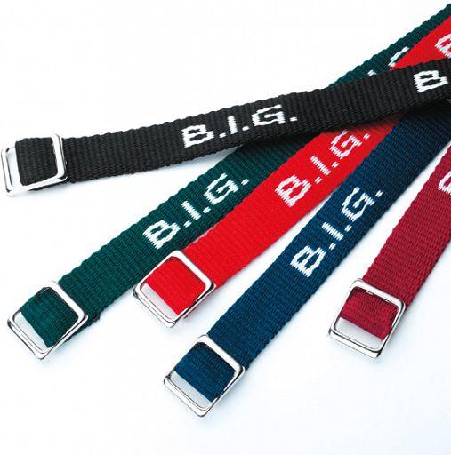 "Armband gewebt ""B.I.G."""