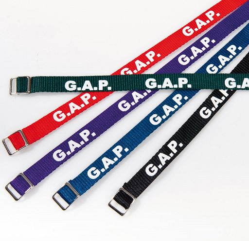 Armband gewebt, G.A.P.