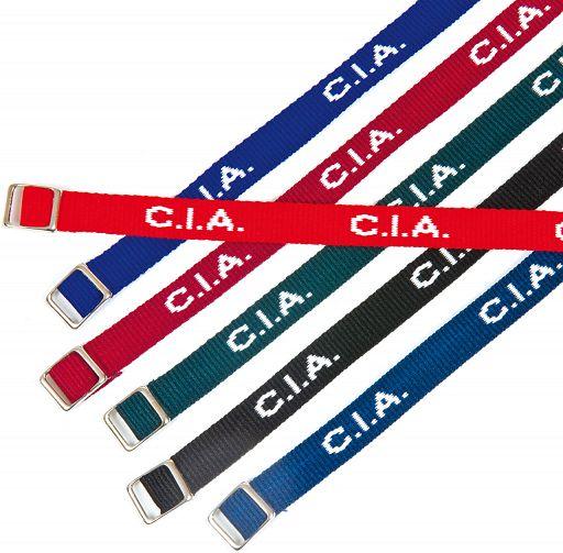 "Armband gewebt ""C.I.A."""
