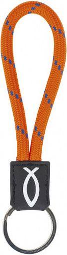 Schlüsselanhänger Lanyard, orange