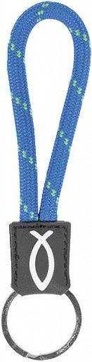 Schlüsselanhänger Lanyard, blau
