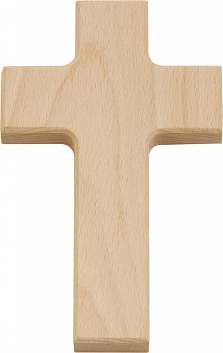 Holzkreuz Buche 15 x 9 cm