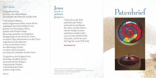 10erSet Patenbrief - Hundertwasser