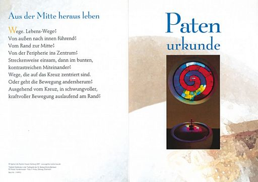 10erSet PC-Patenurkunde Hundertwasser