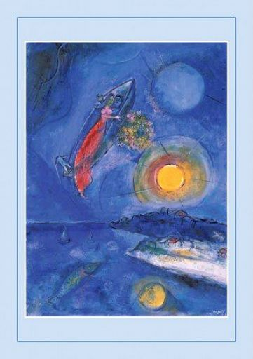 10erSet PC-Trauurkunde Chagall