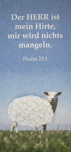 Fühlkarte Psalm 23