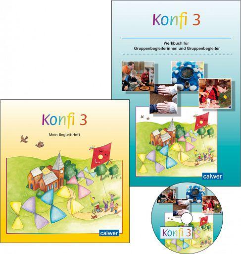 Konfi 3 - Kennenlernangebot Konfirmationsmaterial