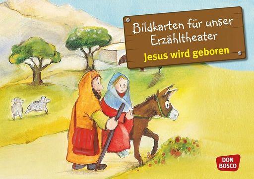 Kamishibai Bildkartenset - Jesus wird geboren