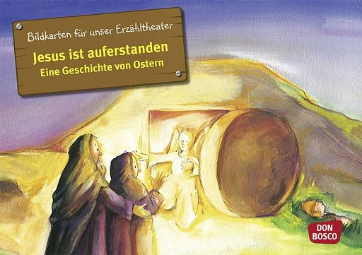 Kamishibai Bildkartenset - Jesus ist auferstanden