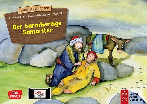 Kamishibai Bildkartenset - Der barmherzige Samariter