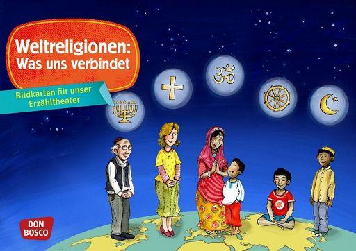 Kamishibai Bildkartenset - Weltreligionen: Was uns verbindet