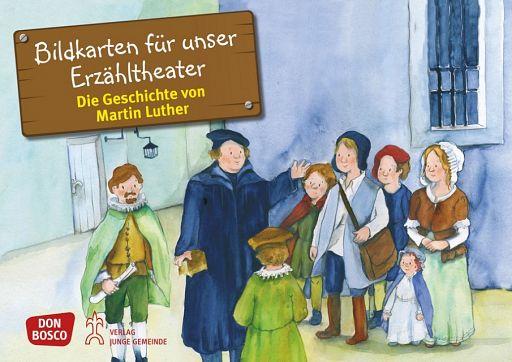 Kamishibai Bildkartenset - Die Geschichte von Martin Luther