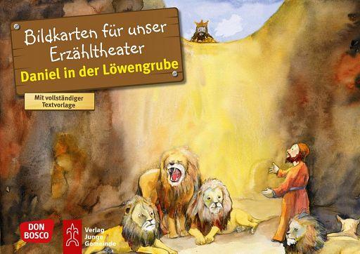 Kamishibai Bildkartenset - Daniel in der Löwengrube