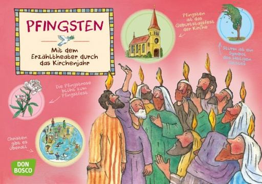 Kamishibai Bildkartenset - Pfingsten
