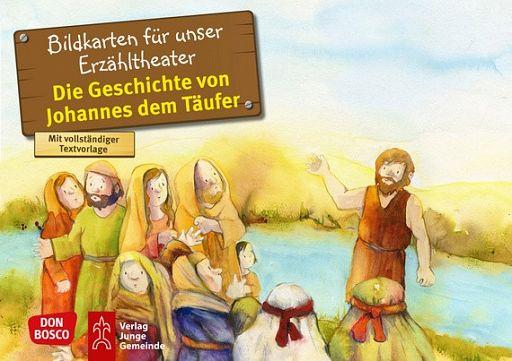 Kamishibai Bildkartenset - Johannes der Täufer