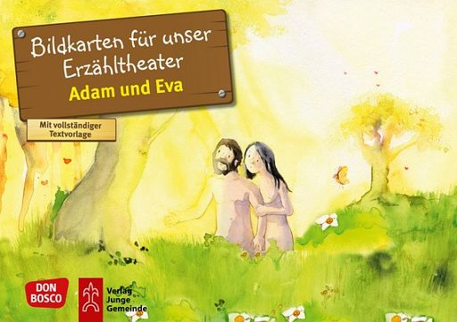 Kamishibai Bildkartenset - Adam und Eva