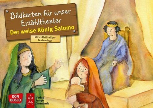 Kamishibai Bildkartenset - Der weise Salomo