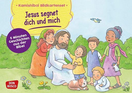 Kamishibai Bildkartenset - Jesus segnet dich und mich