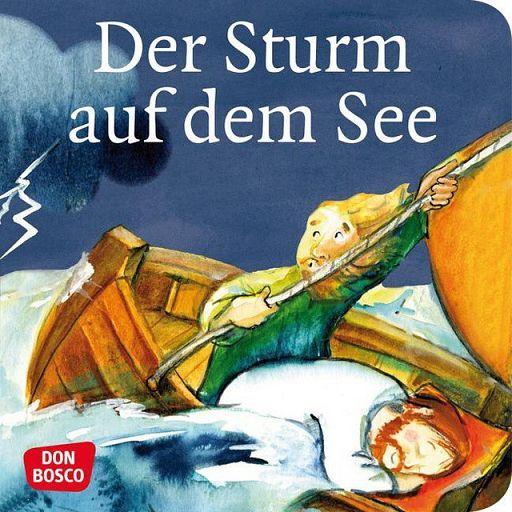Mini-Bilderbuch - Der Sturm auf dem See