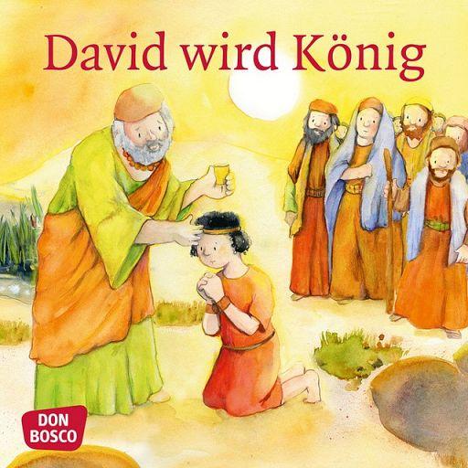 Mini Bilderbuch - David wird König