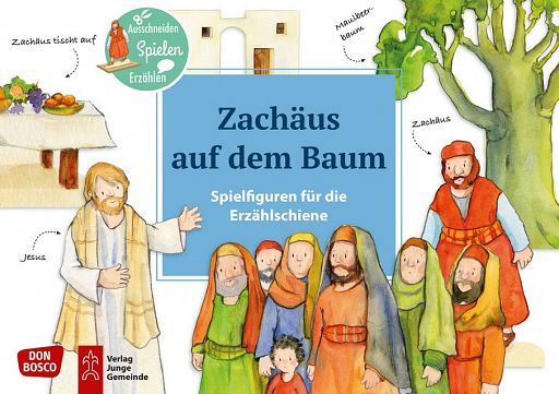 Spielfiguren - Zachäus auf dem Baum