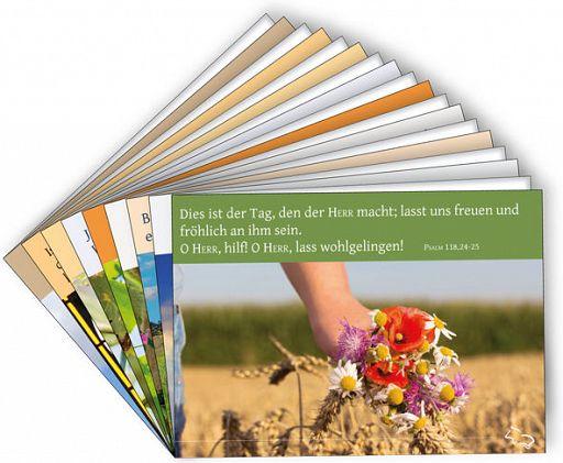 Sortiment Bibelspruchkarten 19er Set