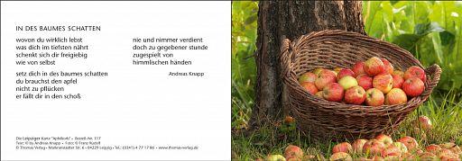 Leipziger Karte: Apfelkorb