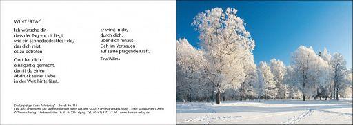 Leipziger Karte: Wintertag