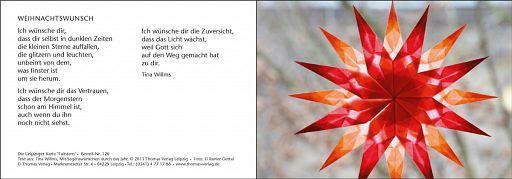 Leipziger Karte: Weihnachtswunsch