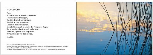 "Leipziger Bibelkarte ""Morgenlicht"""