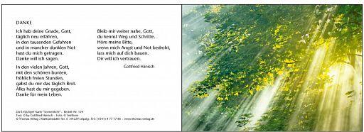 """Leipziger """"Bibelkarte Sonnenlicht"""""""