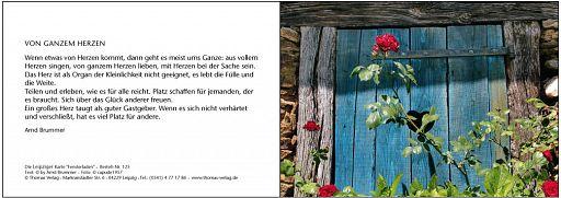 "Leipziger Karte ""Fensterladen"""