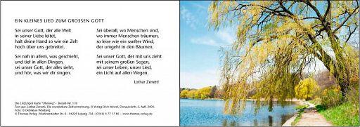 Leipziger Karten: Uferweg