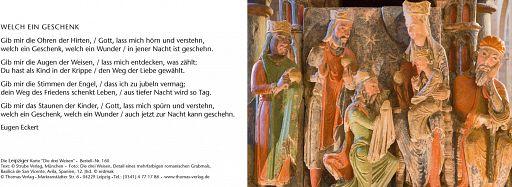 Leipziger Karte: Die drei Weisen