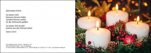 Leipziger Karte - Kerzen