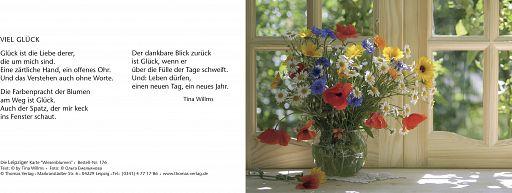 Leipziger Karte: Wiesenblumen