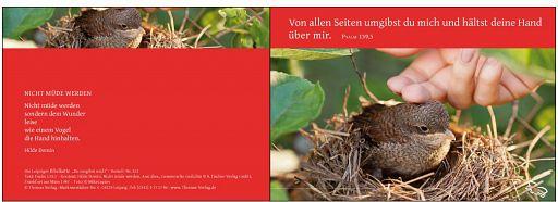 Leipziger Bibelkarte: Du umgibst mich