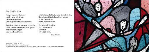 Leipziger Karte: Engel sein