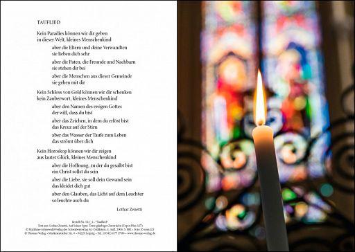 Taufurkunde: Tauflied