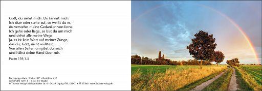 Leipziger Karten - Psalm 139