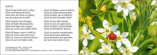 Leipziger Karte: Glück